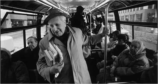 Studs Terkel listening