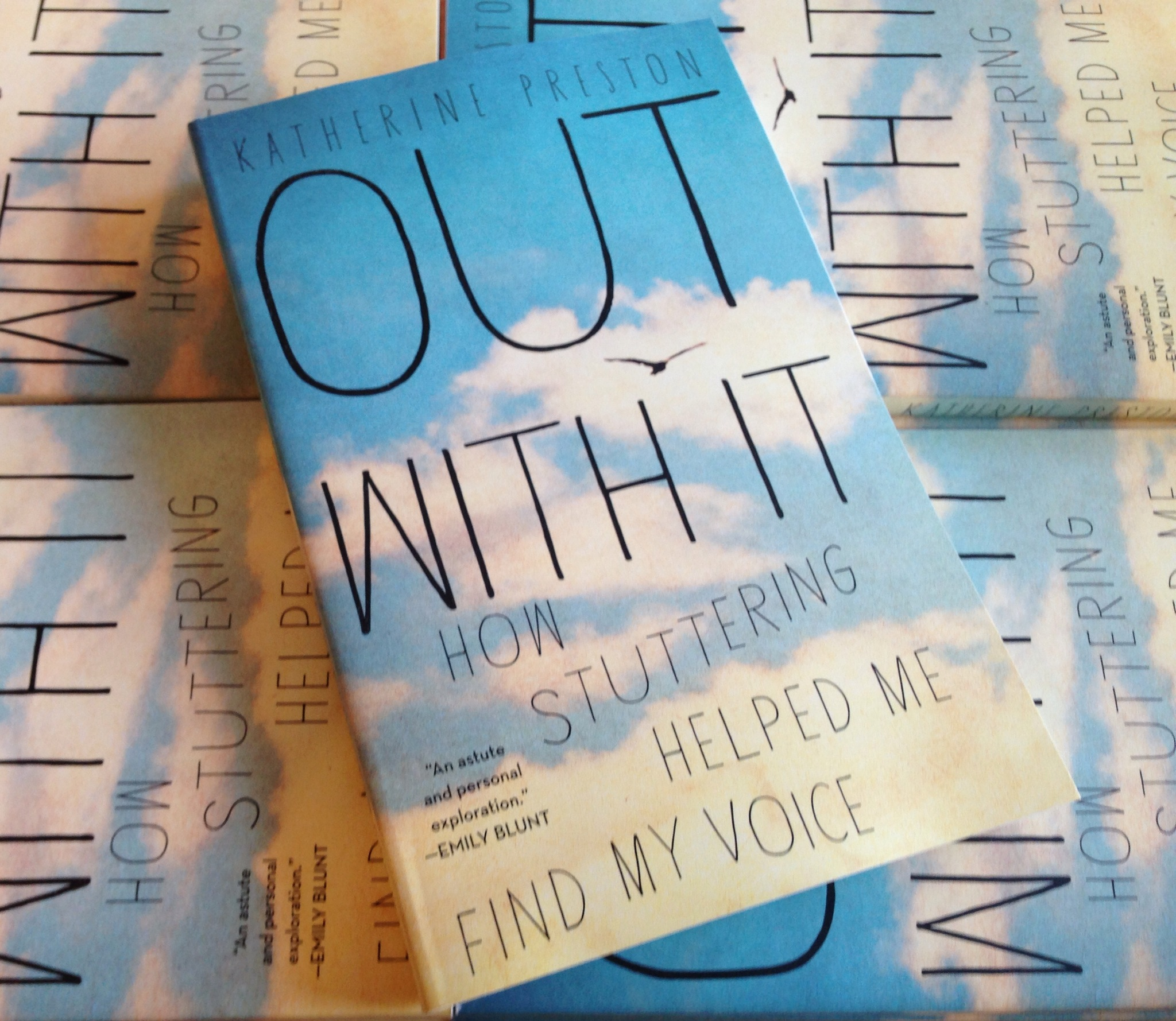 OUT WITH IT - paperback